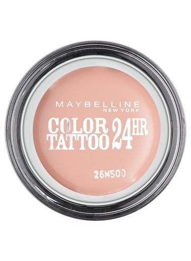 Maybelline Maybellıne No.91 Delist Color Tattoo Krem Far Pembe